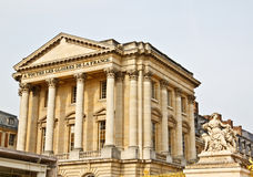 Front facade of Versailles palace 1 Royalty Free Stock Photos