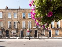 London Terrace Houses stock photography