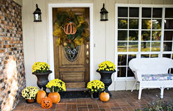 Front Fall Entryway royalty free stock photos