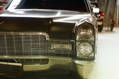 Front of a fashionable retro car Royalty Free Stock Image
