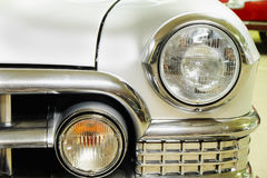 Front fender and headlight Cadillac Royalty Free Stock Photo