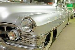 Front fender and headlight Cadillac Royalty Free Stock Photos