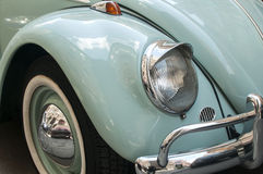 Front fender and headlight of car Stock Photography