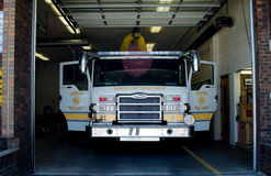 Front of a fire truck Stock Photos