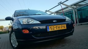 Front of Ford Focus I stock photos