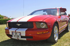 Front of a Ford Mustang Royalty Free Stock Image