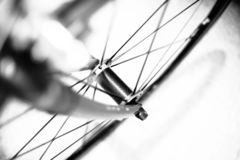 Free Front Forks And Wheel Of Racing Bicycle Royalty Free Stock Photos - 131626978
