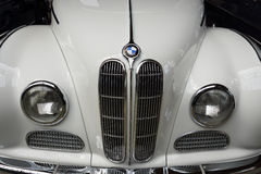 Front of the full-size luxury car BMW 502 convertible Royalty Free Stock Photography