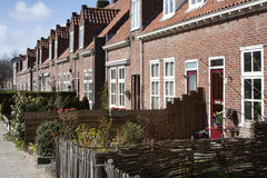 Front garden village street Royalty Free Stock Photography