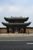 Front gate of Changgyeong palace2 Royalty Free Stock Images