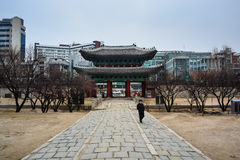 Front gate of Changgyeong palace5 Stock Photos