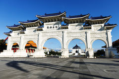 Front gate of Chiang Kai Shek (CKS) memorial hall Stock Images