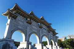 Front gate of Chiang Kai Shek (CKS) memorial hall Royalty Free Stock Photography