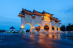 Front gate of Chiang Kai Shek memorial hall Royalty Free Stock Photos