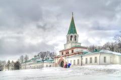 Front Gate Complex, 1672-1673 Kolomenskoye Fotos de Stock Royalty Free
