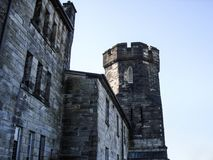 Front Gate Eastern State Penitentiary, Philadelphia jail Royalty Free Stock Photo