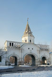Front gate (1682), Izmaylovo Estate, Moscow, Russia Royalty Free Stock Photo