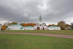 Front gate in Kolomenskoye, Moscow Royalty Free Stock Photo