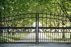 Front Gate Royalty Free Stock Photo