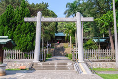 Front gate of martyrs' shrine Stock Images