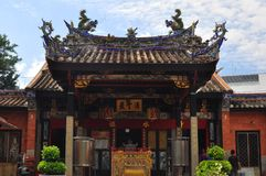 The Snake Temple in Penang Malaysia. The front gate of Snake Temple in Penang Malaysia Royalty Free Stock Photos