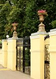 Front gate to the estate Royalty Free Stock Image
