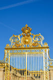 Front gate of Versailles Palace Royalty Free Stock Photography