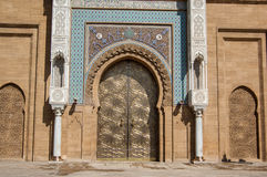 Front Gates of Royal Palace Stock Images