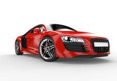 Front of a generic red sport car Stock Photography