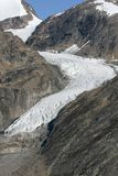 Front of a glacier Stock Photos
