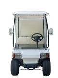 In front of Golf cart for traveling in golf course Stock Image