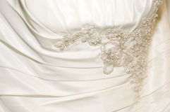 Front of Gown Royalty Free Stock Photos