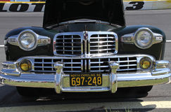 Front Grille of Antique Automobile Royalty Free Stock Images