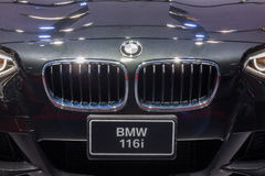 Front grill of BMW 116i Stock Images