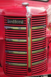 Front grill of a vintage Bedford Bus Royalty Free Stock Photos