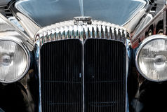Front grille of a vintage car Royalty Free Stock Photos