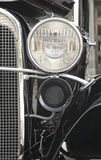 Front Headlight of a retro car Stock Photography