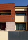 Front house. House, home, architecture, brick, habitat, condominium, residential, neighborhood Stock Photography