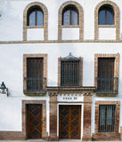 Front of house. Cordoba Arabic architectural details Stock Images