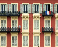 Front of house in Nice royalty free stock photo