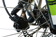 Front hydraulic disk brake group Stock Images