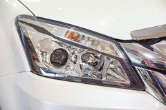 Front light of a car Stock Image