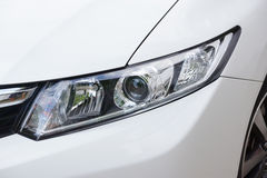 Front light of a car Royalty Free Stock Photography