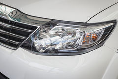 Front light of new car Stock Photos