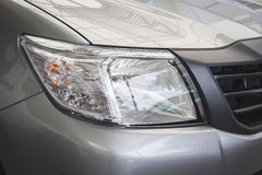 Front light of new car Stock Photography