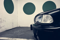 Front lights of a car Royalty Free Stock Photography