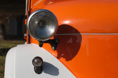 Front lights old car Royalty Free Stock Photos