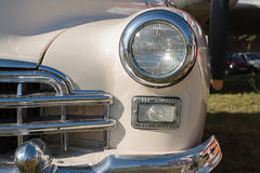 Front lights old car Stock Photography