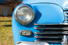 Front lights old car Royalty Free Stock Images