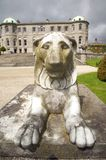 Front of lion sculpture Royalty Free Stock Image